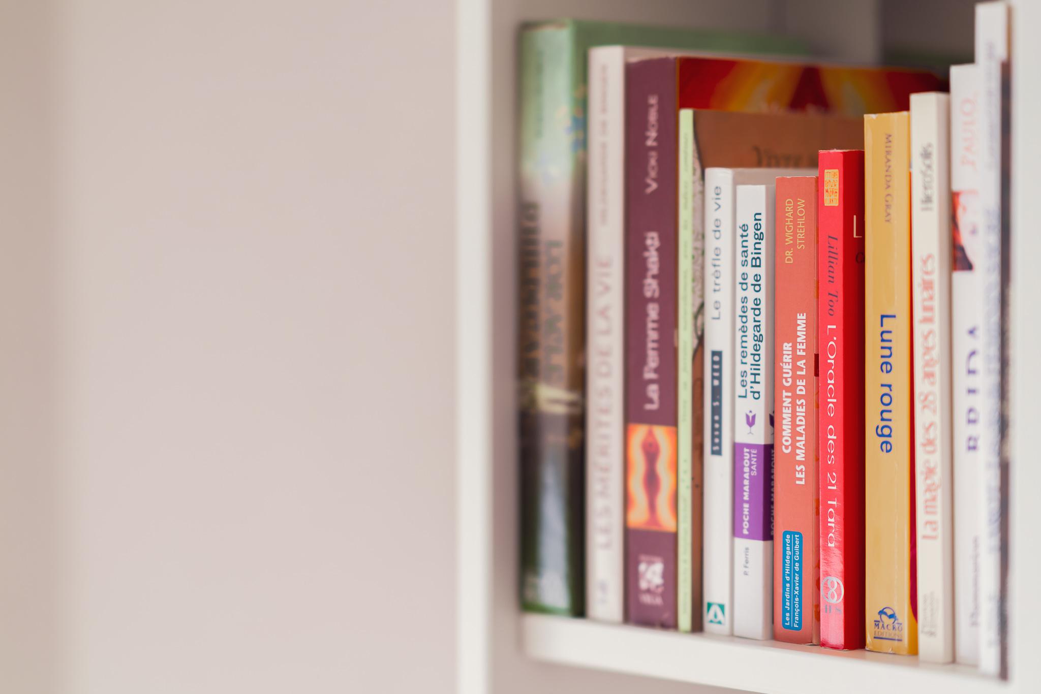Fée'minitude - bibliothèque
