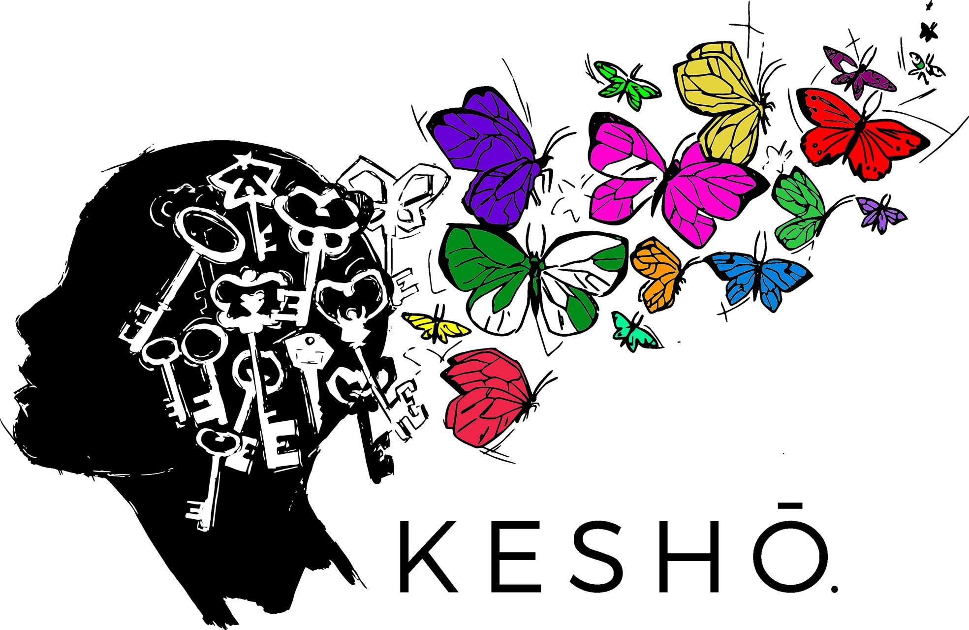 kesho logo couleurs
